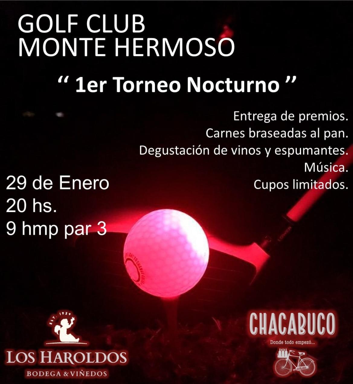 29 de Enero en Monte Hermoso Golf Club