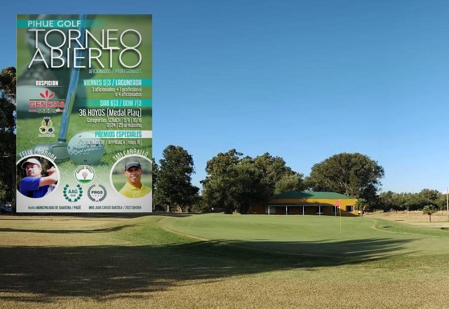 Torneo Apertura Pigüe Golf